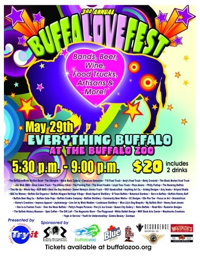 2015 Buffalovefest 8.5 x 11 poster