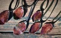 leaf pendants
