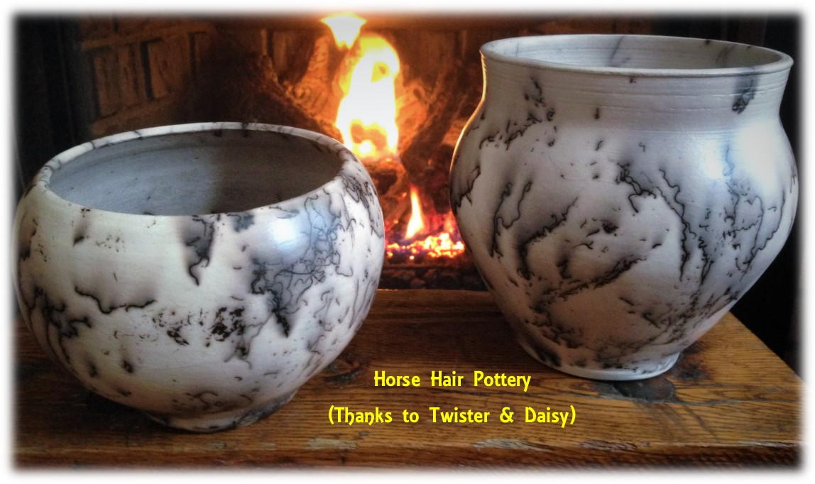 horse hair pots