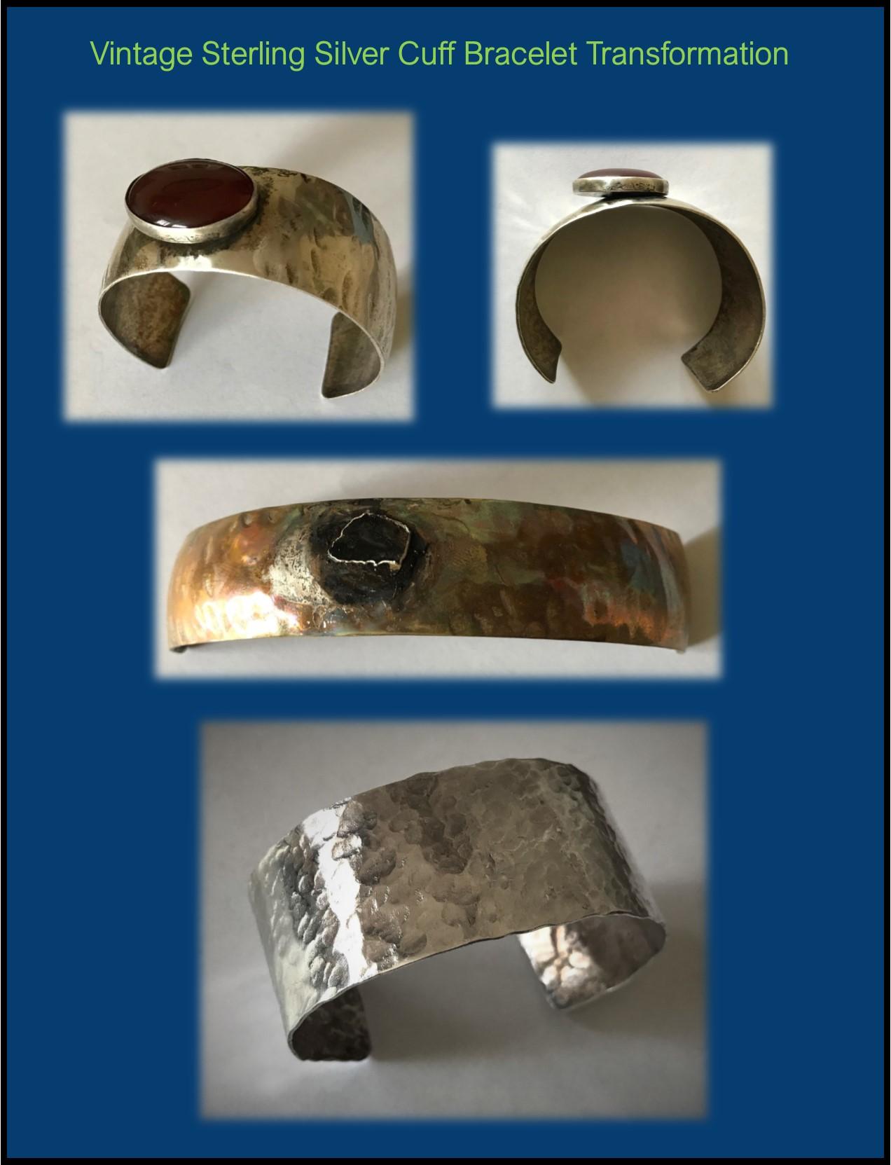 Sterling cuff